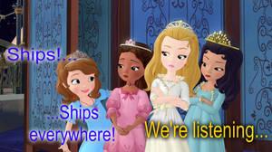 Ships! Everywhere!
