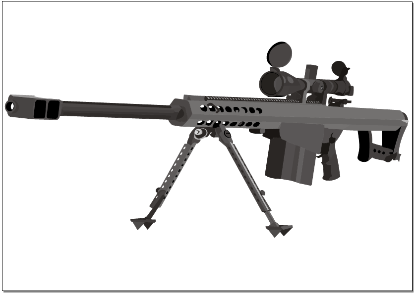 Barrett 50. cal by Devilpigeon on DeviantArt