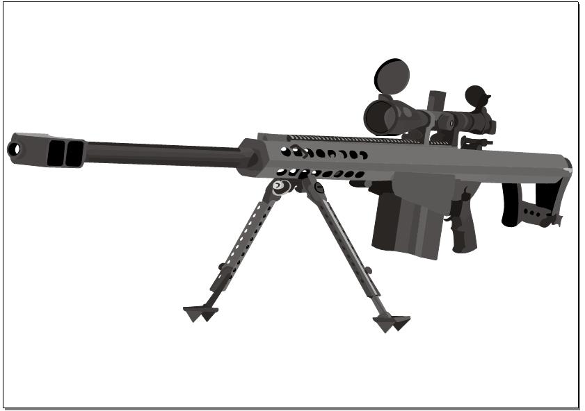 Barrett 50. cal by Devilpigeon on DeviantArt