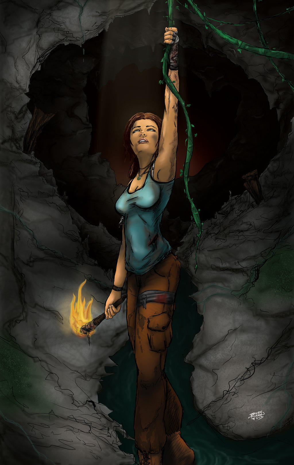 Tomb Raider - Reborn Contest Entry by hudsonvisual
