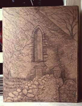 13th Centuary priory sketch