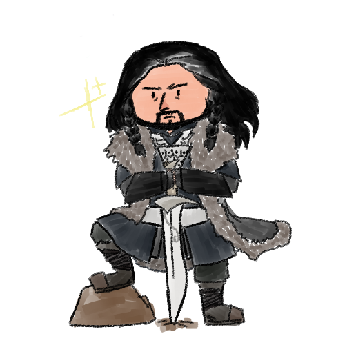 thorin dreamboatshield by chicken-mcflurry