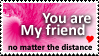 My friend stamp by Transitus