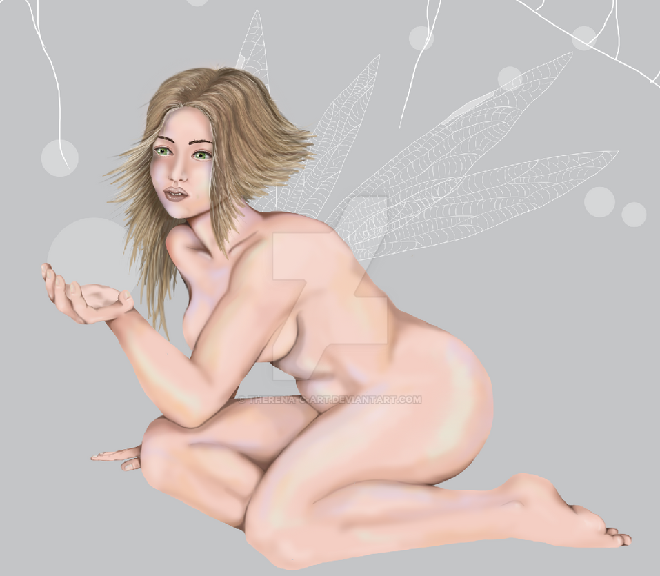 Forest Fairy Progress by Therena-C-Art