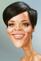 Rihanna by markdraws