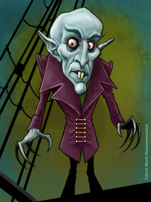 Nosferatu by markdraws