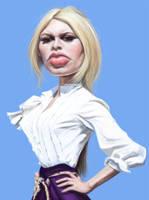 Brigitte Bardot by markdraws