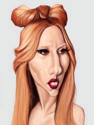 Lady Gaga by markdraws