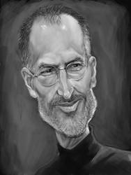 Steve Jobs by markdraws