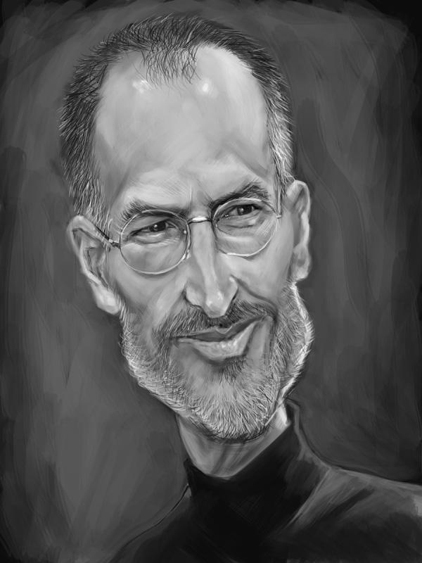 Steve Jobs by markdraws