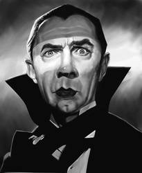 Bela Lugosi by markdraws