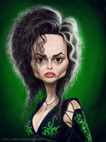 Helena Bonham Carter by markdraws