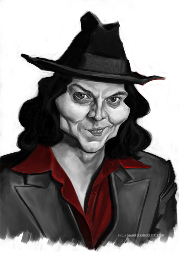 Jack White Sketch by markdraws