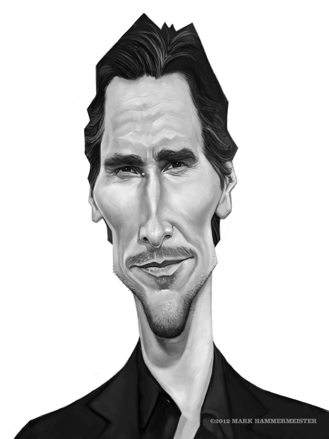 Christian Bale by markdraws