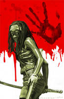 Michonne by markdraws