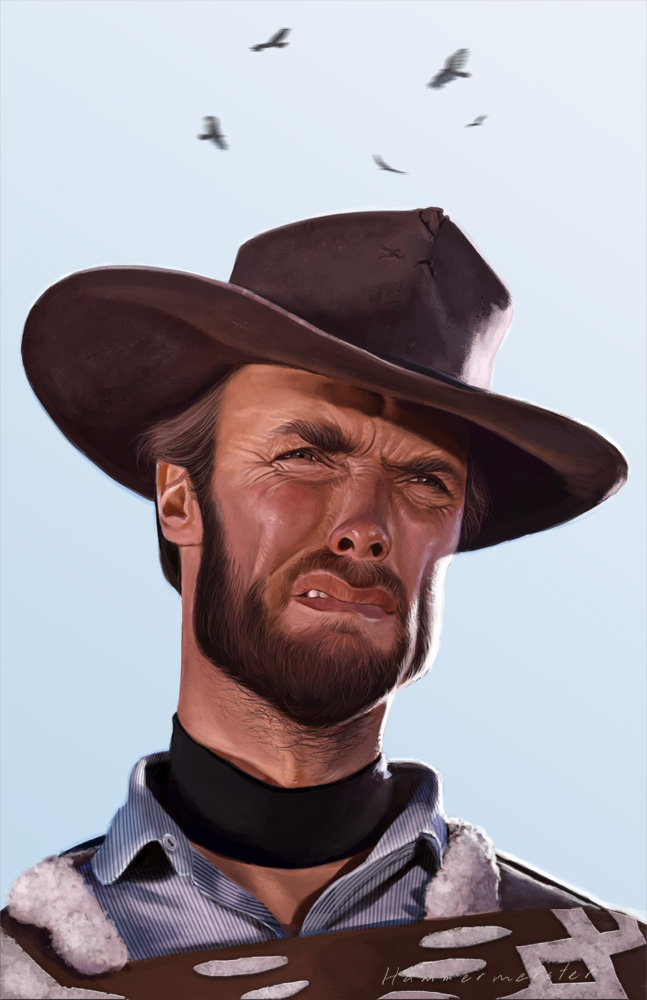 Clint Eastwood Cowboy Wedding Song Rowdy