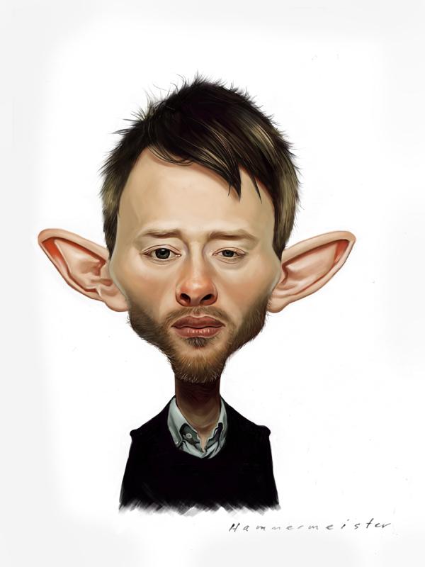 Thom Yorke by markdraws