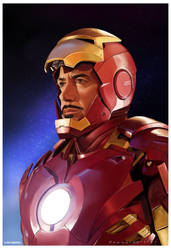 Iron Man by markdraws