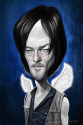 Daryl Dixon by markdraws