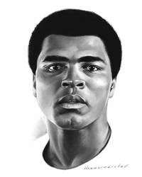 Muhammad Ali by markdraws