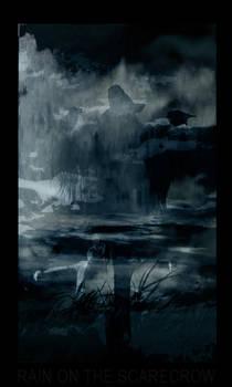 Rain on the scarecrow