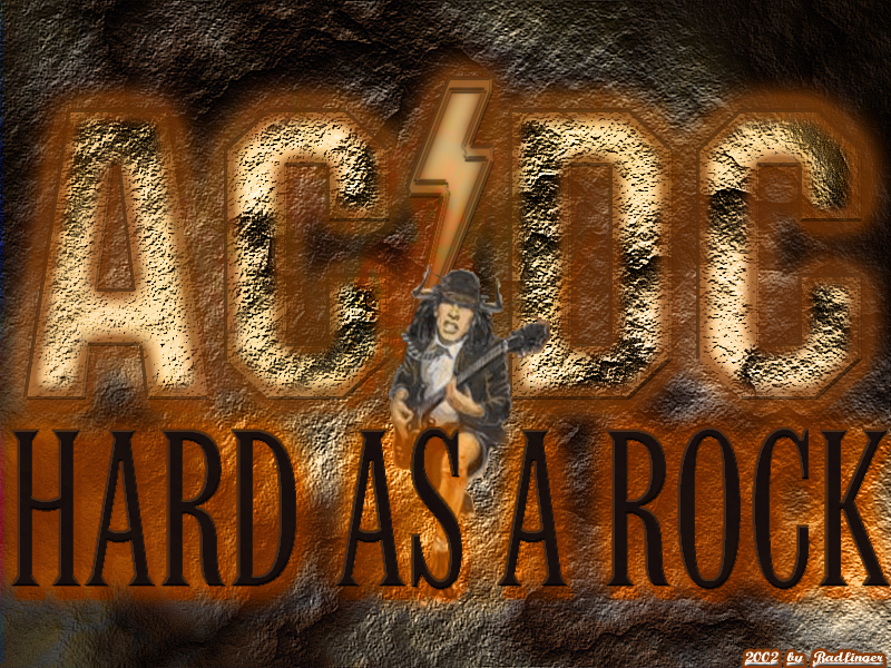 Acdc Hard As A Rock By Badfinger On Deviantart