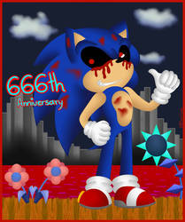 Sonic's 26th Anniversary Exified by EternalSonicFreak