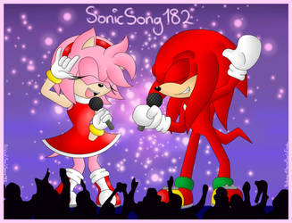 On Stage (SonicSong182 Redraw) by EternalSonicFreak