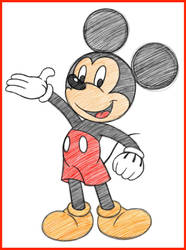 Mickey Mouse by EternalSonicFreak
