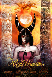 The High Priestess by maniphisto
