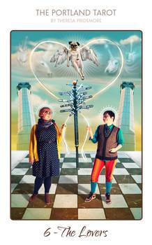 06-the-portland-tarot-the-lovers-theresa-pridemore