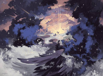 The Dawn Will Come by Chio-Kami