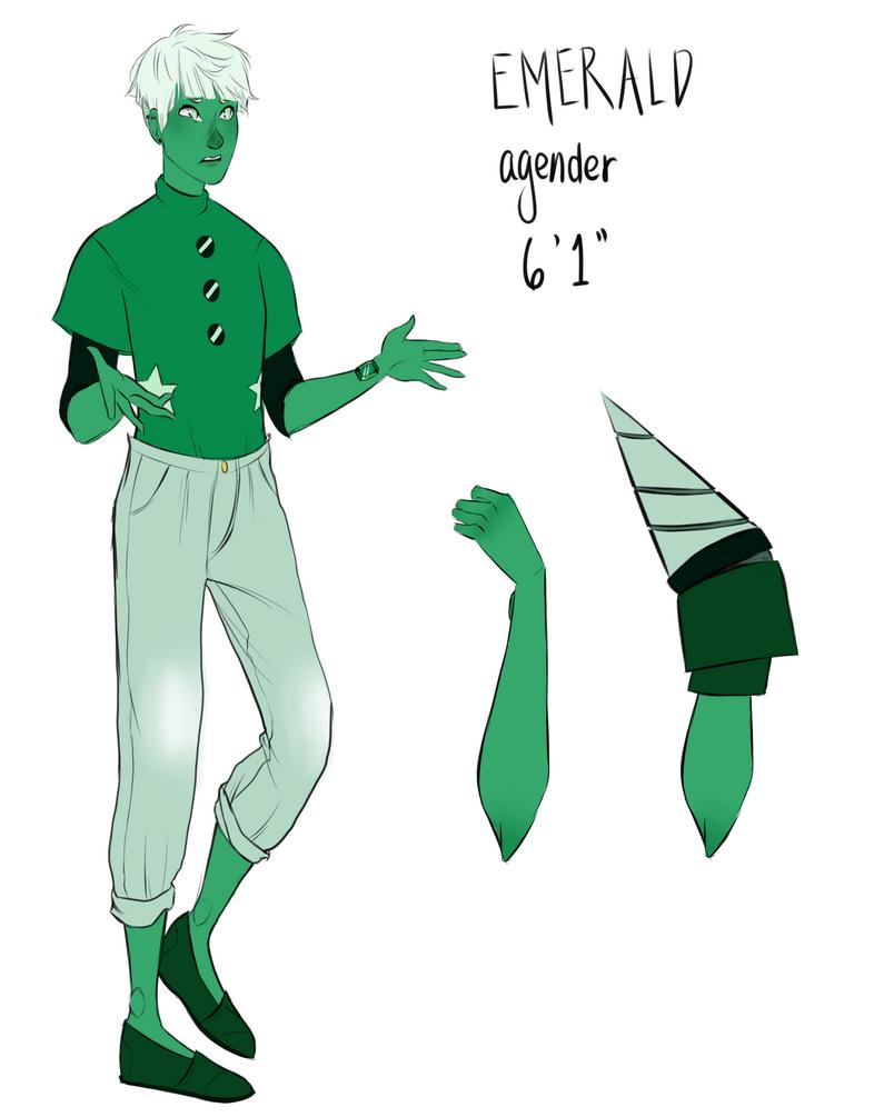 Gemsona: Emerald by SemiHipster