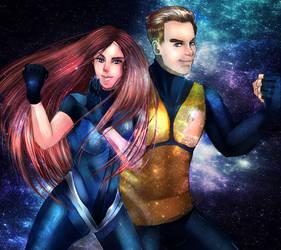 Star Trek James and Sarah Kirk by ChristinePresley