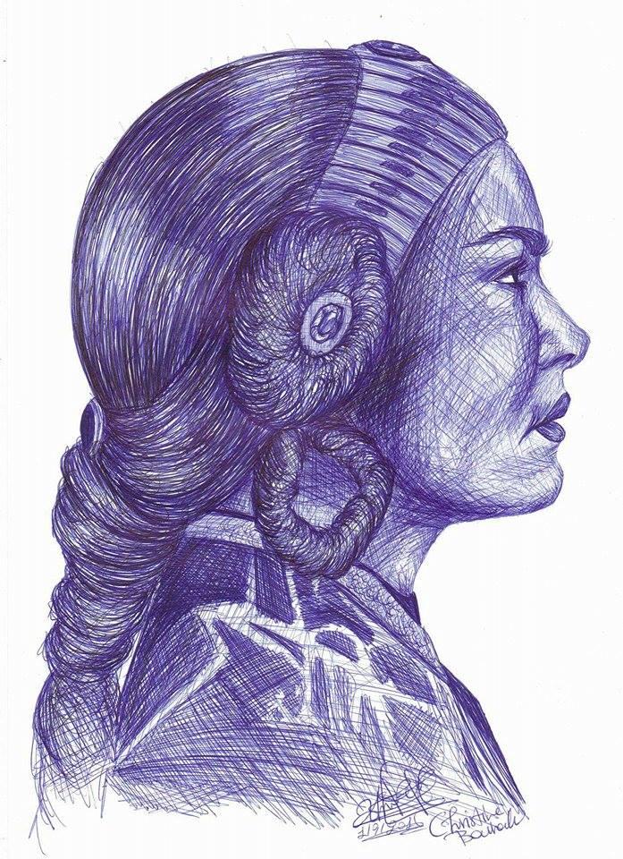 Padme Amidala by ChristinePresley