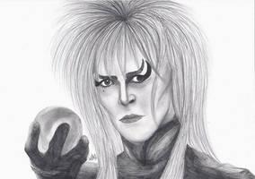 David Bowie Goblin King Jareth by ChristinePresley