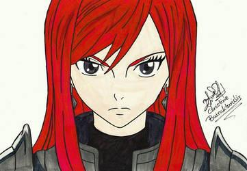 Erza Scarlet by ChristinePresley