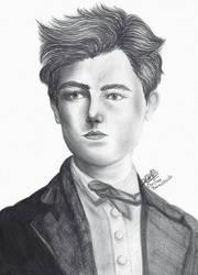 Arthur Rimbaud by ChristinePresley
