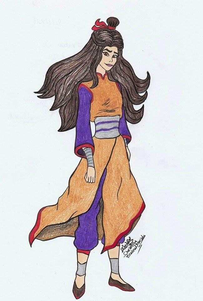 Avatar OC Lin by ChristinePresley