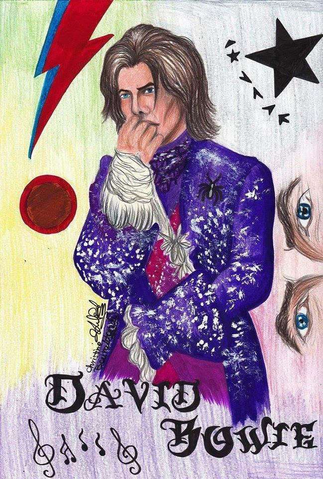 David Bowie by ChristineArrow
