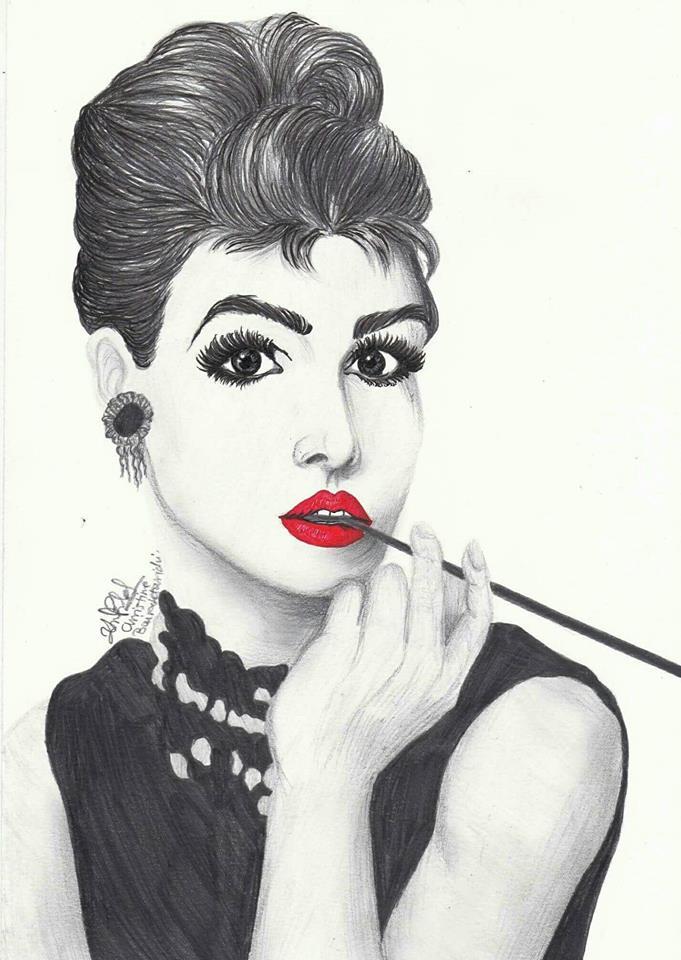 Audrey Hepburn by ChristinePresley