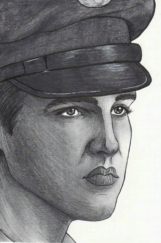 Elvis Presley by ChristinePresley