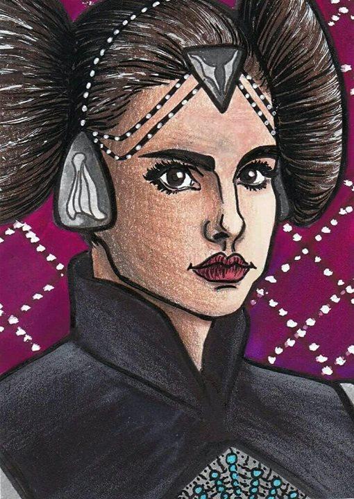 Star Wars Padme by ChristinePresley