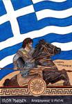 Eddie as Alexander the Great the Greek Macedon by ChristinePresley