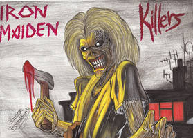 Iron Maiden Killers by ChristinePresley