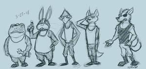 Star Fox Doodles 2