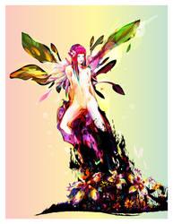 spring fairy by bboypion
