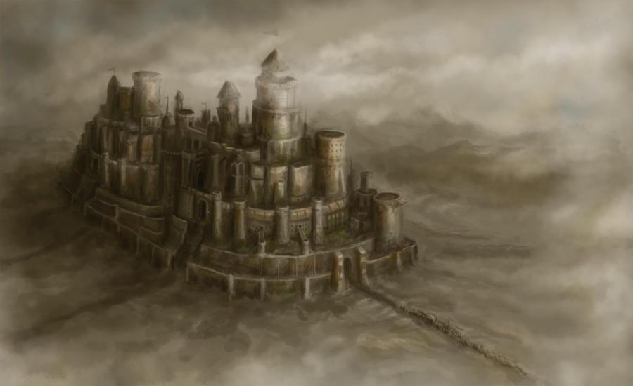 castle by Perseass