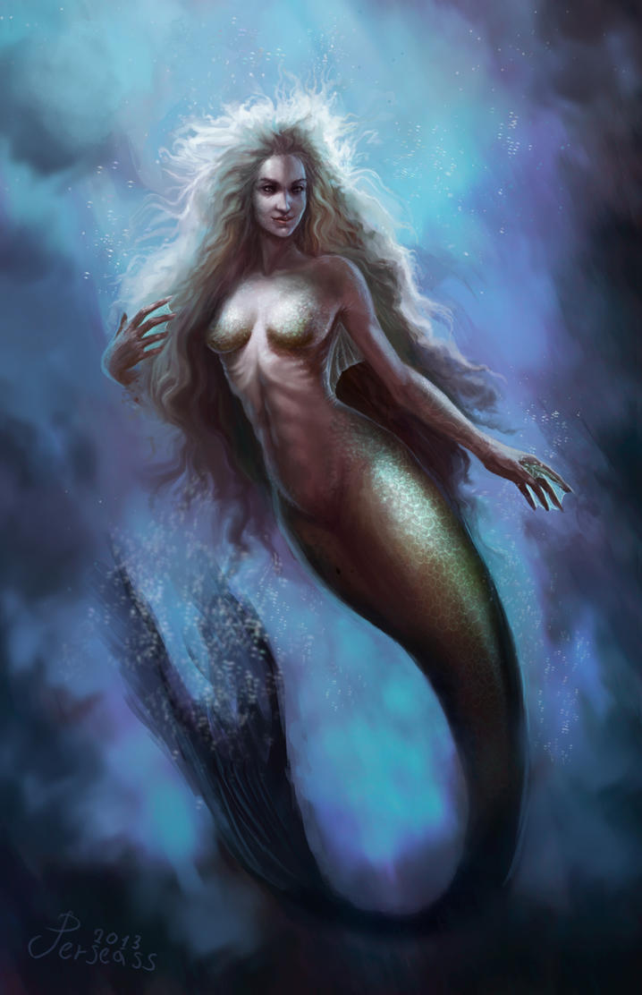 Mermaid by Perseass