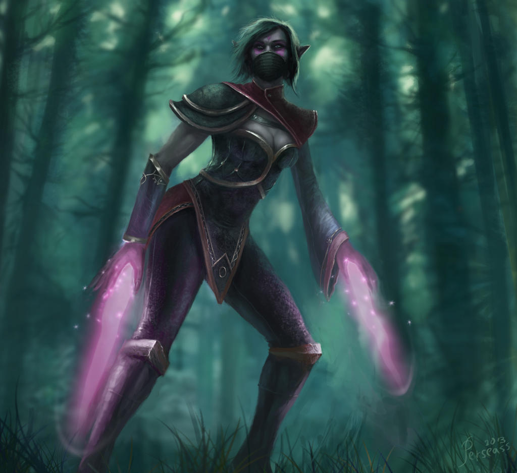 templar assassin dota 2 by Perseass